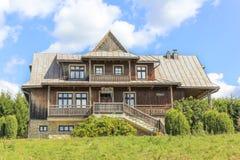 Villa of Jozef Galota in the tourist settlement Czorsztyn, Poland Royalty Free Stock Image