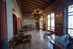 Villa Kerylos, Beaulieu sur mer, France, interiors and details Royalty Free Stock Photo