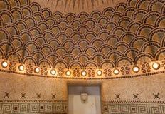Villa Kerylos, Beaulieu surmer, Frankrike, inre och detaljer Arkivbilder