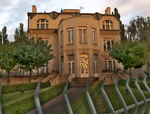 Villa Kovaric. In the Prague, Czech republic Royalty Free Stock Photos