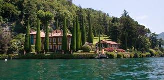 Villa La Cassinella Royalty Free Stock Photos