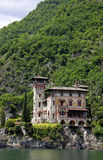 Villa La Gaeta at Lake Como, Italy. Villa La Gaeta, the famous mountainside house used in the James Bond film Casino Royale, Lake Como, Italy, May 20th 2010 Stock Photo