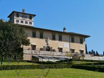 Palace in Castello in Italy royalty free stock photography