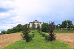 Villa La Rotonda Royalty Free Stock Photo