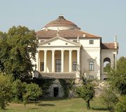 Villa la rotonda Royalty Free Stock Image