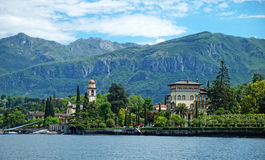 Villa Lake Como Stock Photography
