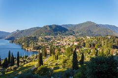 Villa in Lake Como Royalty Free Stock Images