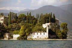 Villa at the lake Garda Stock Photography