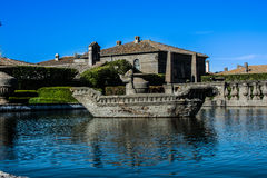 Villa Lante royalty-vrije stock foto's