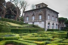 Villa Lante Bagnaia Italy Royalty Free Stock Images
