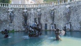Villa Lante, Bagnaia, Viterbo Stock Photos