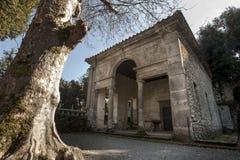 Villa Lante chez Bagnaia (petite ville en Italie) Photos stock