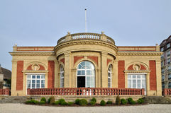 Villa le Cercle in Deauville in Normandie stock photography