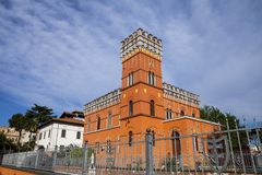Villa Lituania, Rome royalty-vrije stock fotografie
