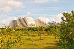 Villa on luxury balinese Royalty Free Stock Images