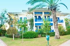 Villa on luxury balinese resort with beautiful Royalty Free Stock Image