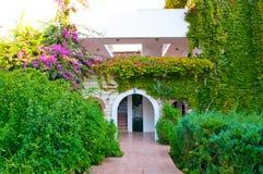 Villa on luxury balinese resort with beautiful Stock Photos