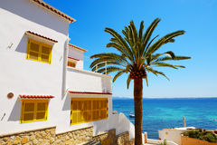 The villa at luxury hotel Stock Photography