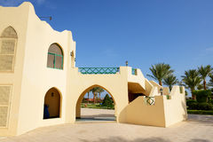 The villa at the luxury hotel Stock Photography