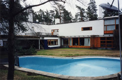 Villa Mairea in Noormarkku Royalty Free Stock Images