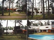 Villa Mairea in Noormarkku Royalty Free Stock Photos