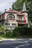 Villa Mak in Zakopane Royalty Free Stock Photos