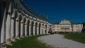 Villa Manin at Passariano Stock Image