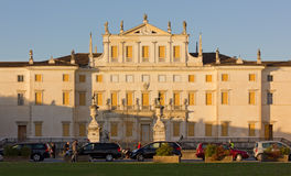 Villa Manin at Sunset Stock Photo