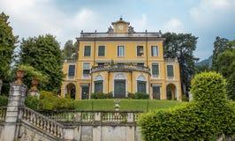 Villa Margherita på Como sjön Arkivfoton