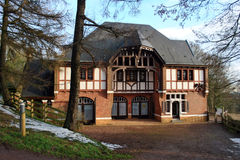 Villa Marguerite Yourcenar royaltyfri fotografi