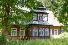 Villa Marya in Zakopane Royalty Free Stock Photo