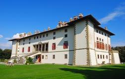 Villa Medicea i Artimino Arkivfoto