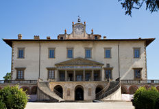 Villa Medici Poggio a Caiano Royalty Free Stock Photography