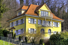 villa in Meersburg Stock Foto