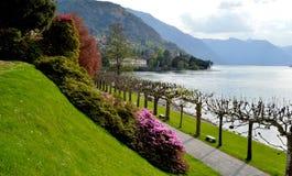 Villa Melzi Photographie stock