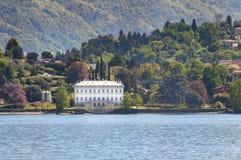 Villa Melzi, Bellagio, lago Como, Italia Fotografie Stock Libere da Diritti