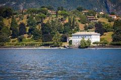 Villa Melzi, Bellagio, sjö Como Royaltyfria Bilder