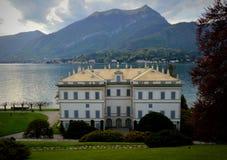 Villa Melzi. D'Eril are a highlight among Lago di Como's delightful places stock photos
