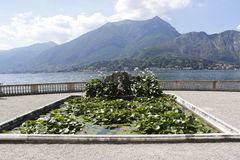 Villa Melzi Gardens, in Bellagio, Royalty Free Stock Photo