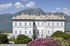 Villa Melzi on Lake Como Stock Photos