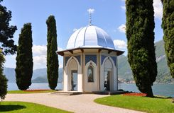 Villa Melzi, lake Como, Italy Royalty Free Stock Images