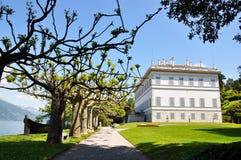 Villa Melzi nel lago Como Immagine Stock