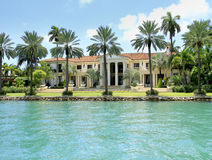 VILLA IN MIAMI, FLORIDA Stock Photos
