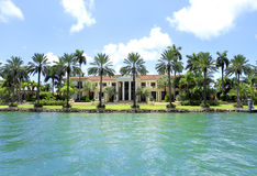 VILLA IN MIAMI, FLORIDA Royalty Free Stock Image