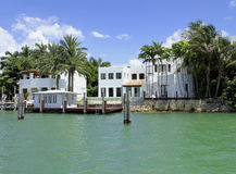 VILLA IN MIAMI, FLORIDA Royalty Free Stock Photos