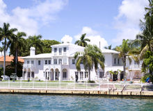 VILLA IN MIAMI, FLORIDA Stock Image