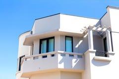 Villa moderna Fotografia Stock Libera da Diritti