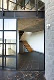 Villa moderne, balcon photo stock