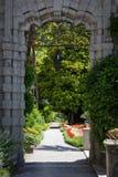 Villa Monastero, Lake Como, Italy Stock Images