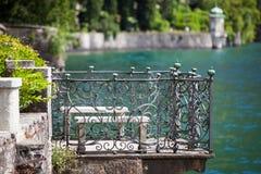 Villa Monastero, Lake Como, Italy Stock Image